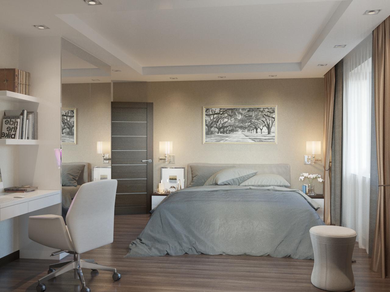 Отличный дизайн спальни