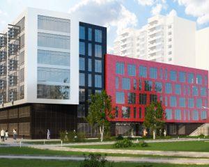 архитектурная визуализация жилого комплекса