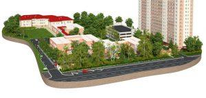 архитектурная визуализация клинники в Краснодаре