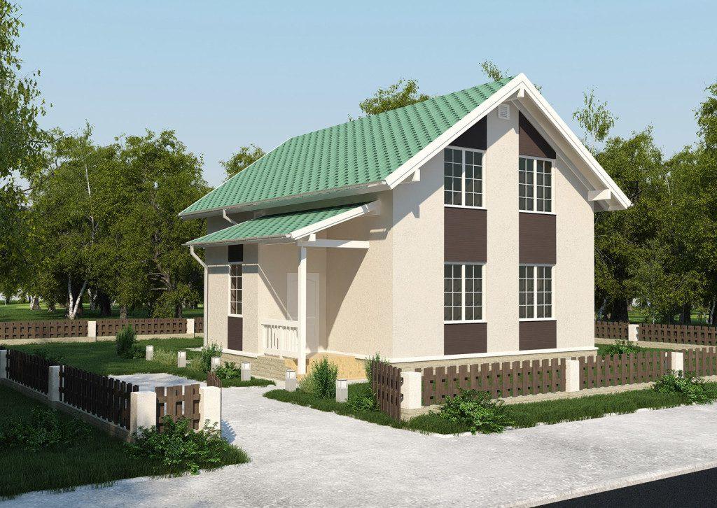 архитектурная визуализация коттеджей в Москве
