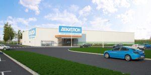 архитектурная визуализация торговых центров