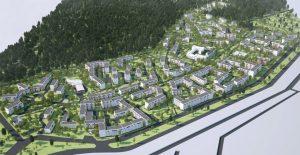 архитектурная визуализация жилого массива
