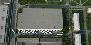 визуализация промышленного комплекса