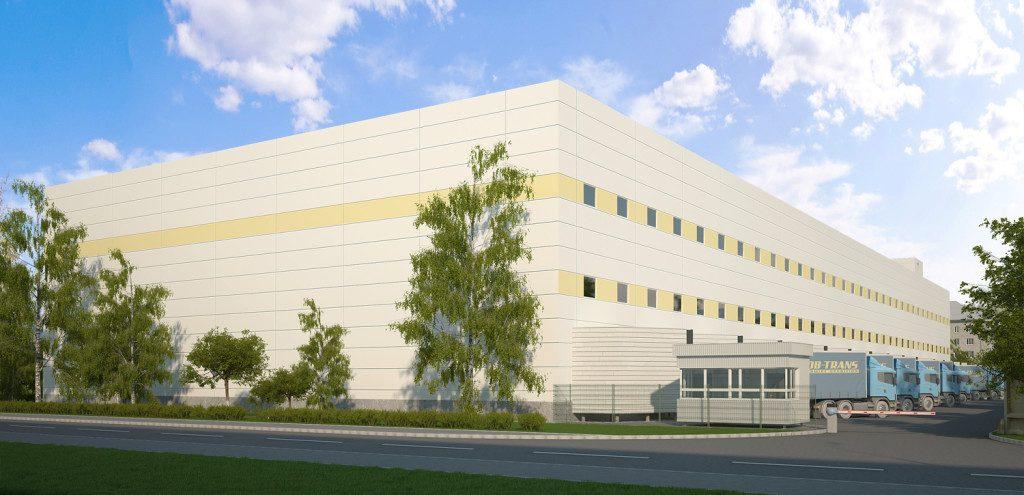 визуализация промышленных зданий