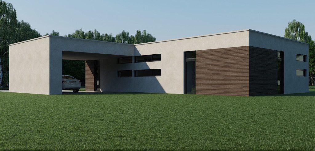3д визуализация дома