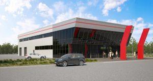 3д визуализация бизнес центра