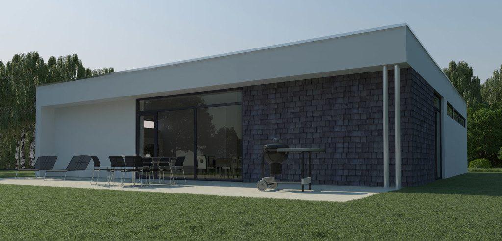 визуализация индивидуального дома