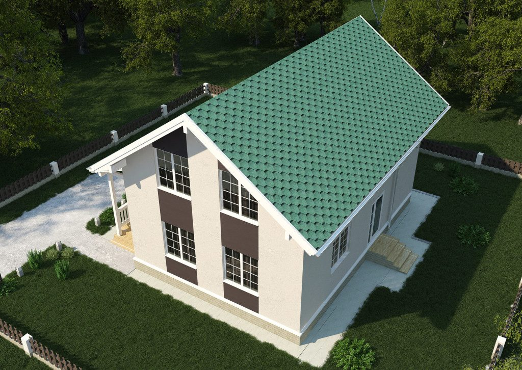 визуализация дома в Москве