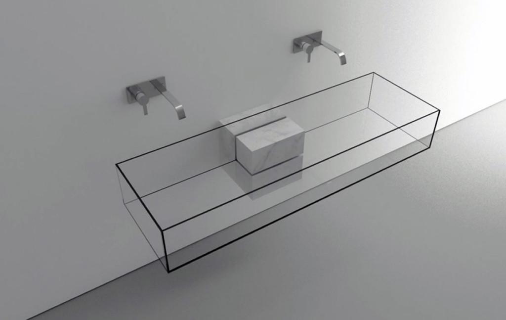 прозрачная раковина