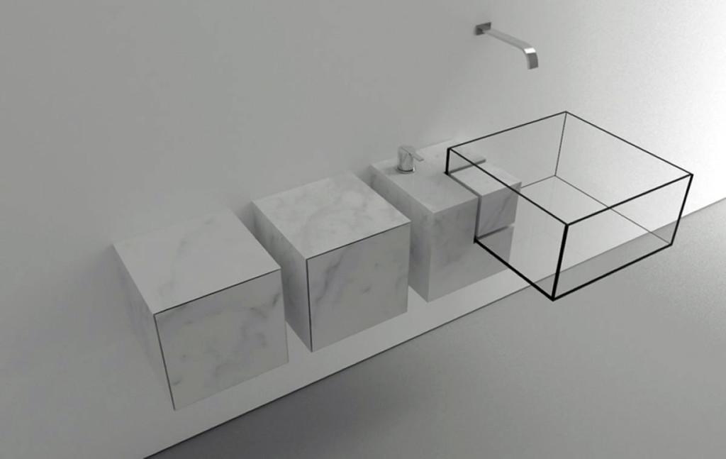 прозрачная невидимая раковина
