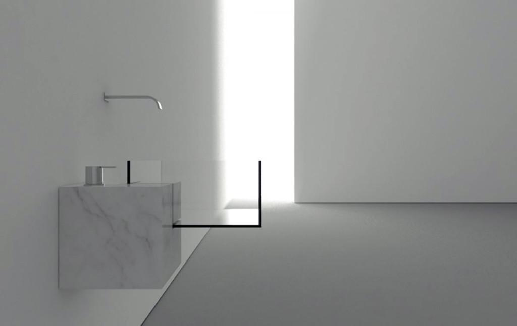минимализм в раковине