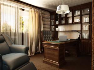 кабинет в доме