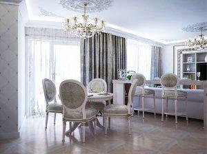 классический дизайн интерьера в Витебске