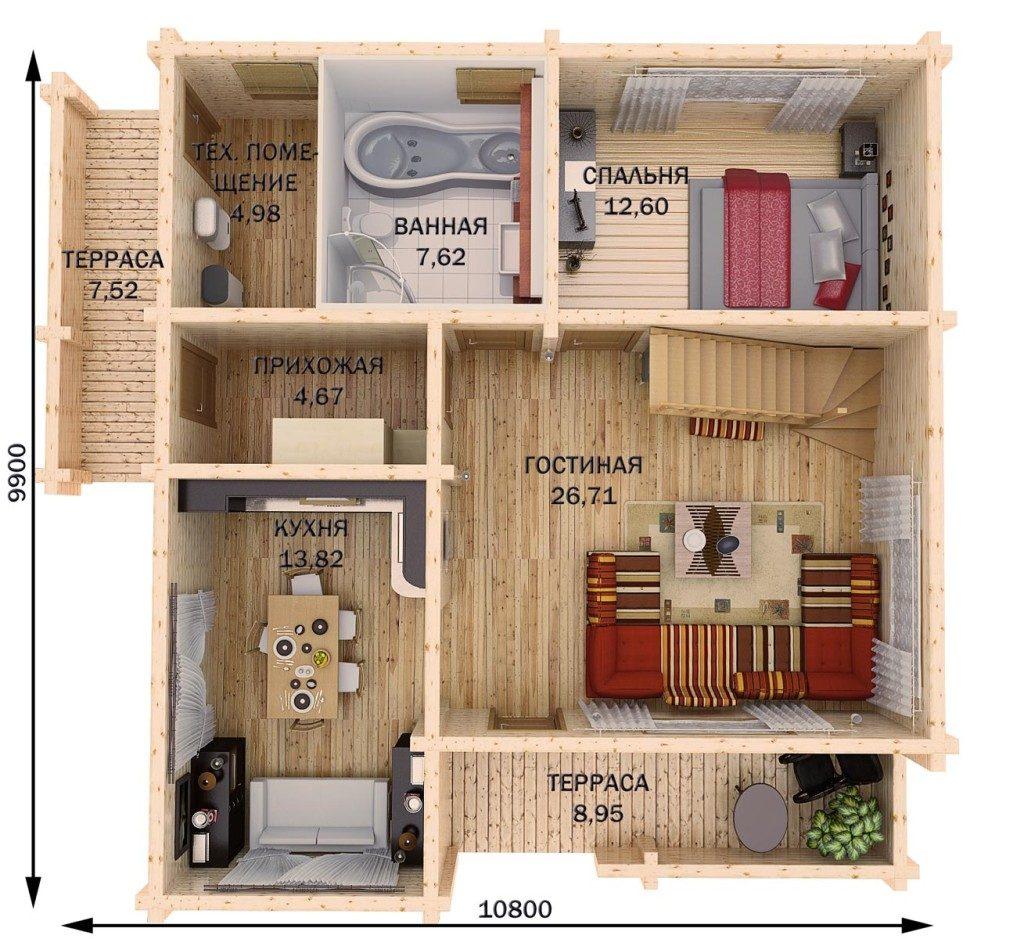3d планировки квартир
