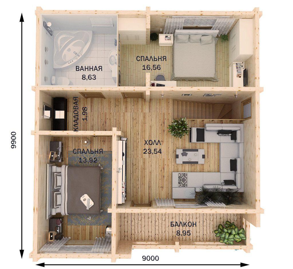 3d квартиры в Витебске