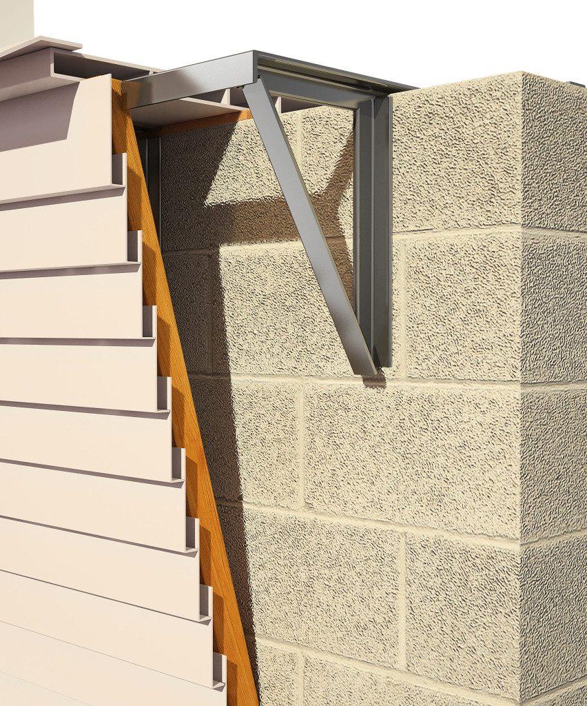 3d визуализация балкона