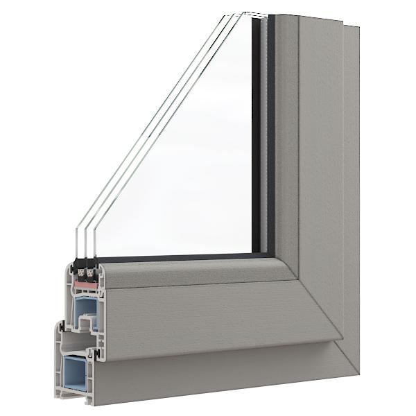визуализация пластикового окна
