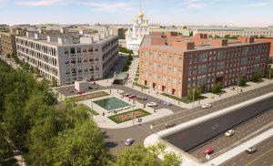 визуализация жилого квартала