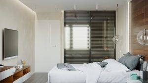 дизайн интерьера спальни в Минске
