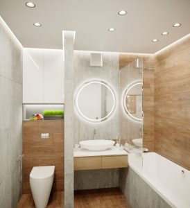 дизайн ванной в Минске